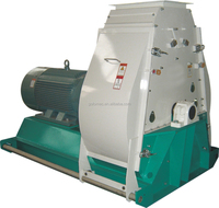 Low vibration hammer mill machine of animal feed for sale