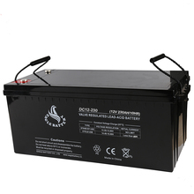 deep cycle lead acid 12v 230ah solar energy storage battery