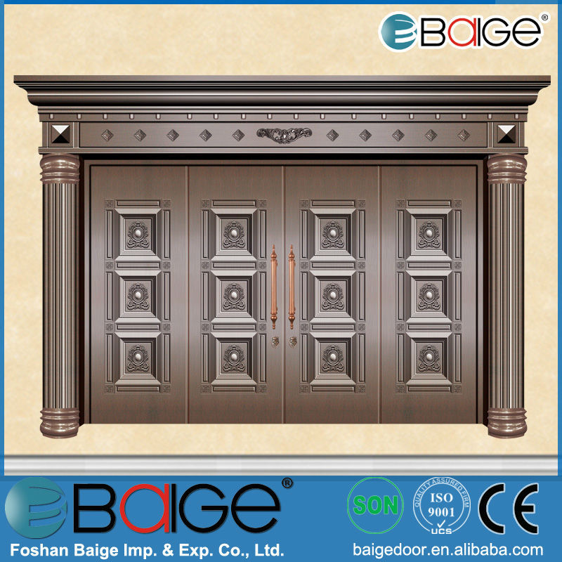 BG-C9012 antique copper front door