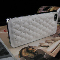Free Samples Leather Case for iphone4 Case