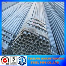 threaded galvanized steel pipe with couplings and caps bsp npt!galvanized pipes black steel tubes!galvanized steel pipe factory