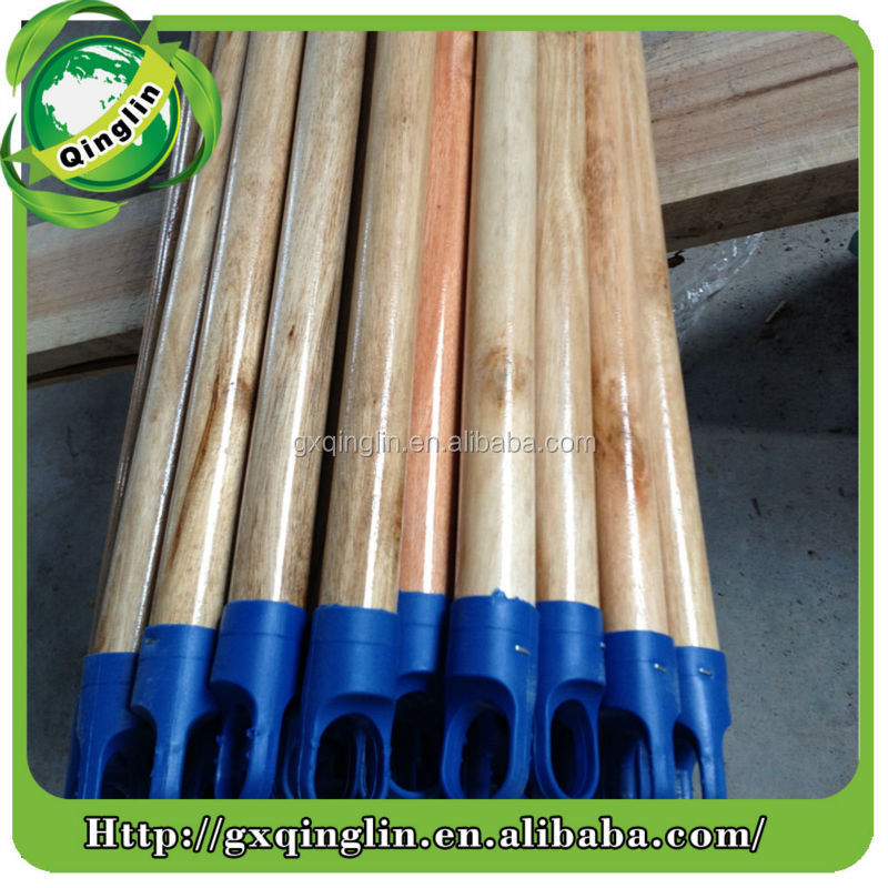 round wood broom handle without any treatment on surface innovative products