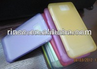Ultra Thin Clear Matte Soft Shell TPU back Case Cover For Samsung Galaxy S2 SII i9100 case