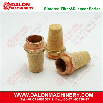 Brass Silencer,porous sliencer