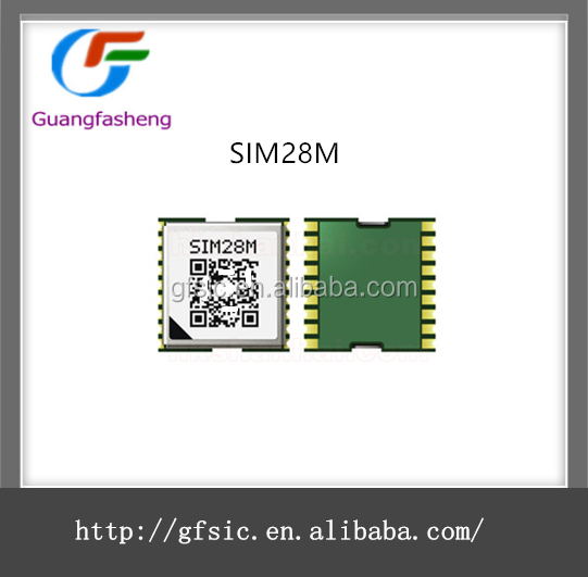 2016 hot sale small size gsm gps embedded module SIM28M electronic components