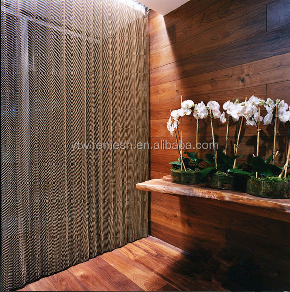 Beautiful decorative metal mesh curtain/metal drapery