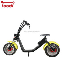 2017 hot selling newest WOQU/SEEV 1200w City COCO electric scooter in india
