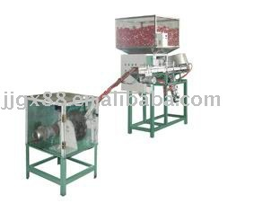 Bottle cap making machine