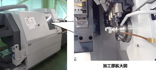 Precision and complicated metal processing by cnc lathe machine
