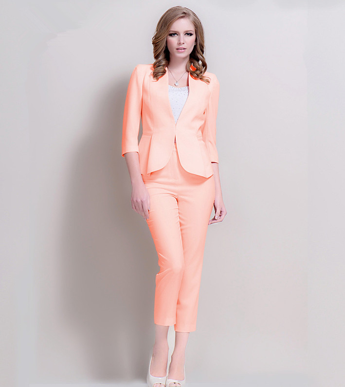 2014 Elegant Professional Female Leisure Suit