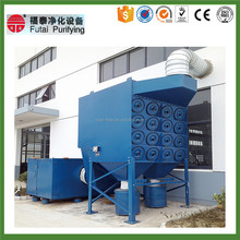 FUTAI Cartridge Filter Indutrial Dedusting System Pulse Dust Collector Machine