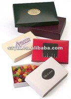 glossy colored candy boxes with offset printing