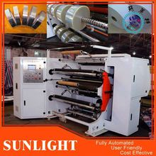 "2014 Top Sale 3"" Core Plastic Film Roll Slitting And Rewinding Machine"