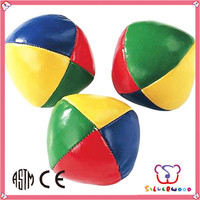 GSV certification promotional with custom logo vinyl stuffed juggling balls