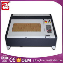 hot sale high precision 50W mini laser cutting machine laser engraver machine 400*400mm