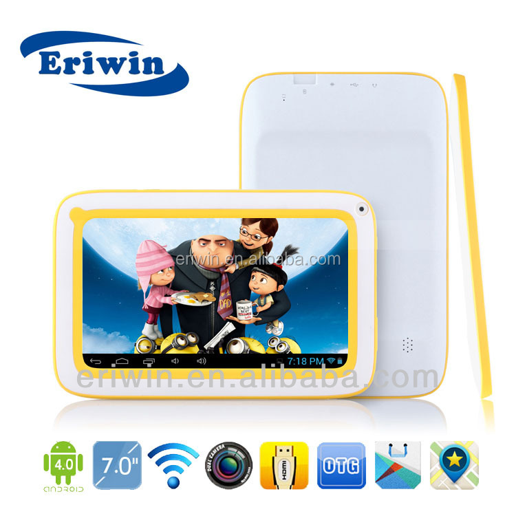7 inch Hot selling X-MD7036 kids tablets pc Allwinner A13 Cortex-A8 processor speed 1.2GHz