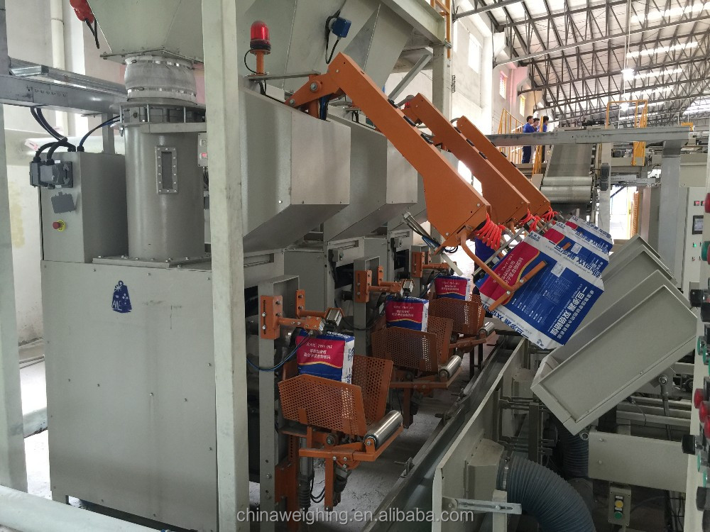 Fully Automatic 10-25 kg Valve Bag Pneumatic Packing Machine