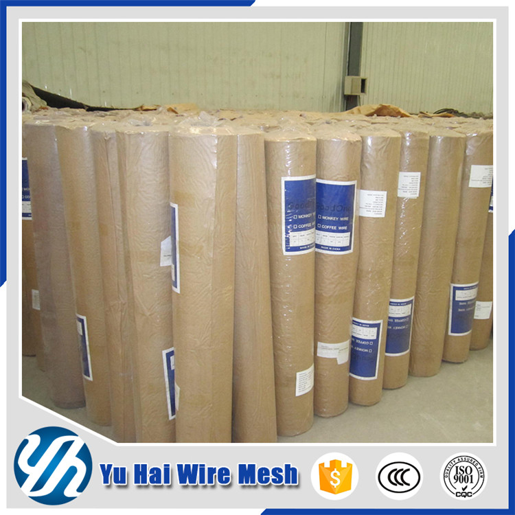 factory cheap pvc fence electronic galvanized square wire mesh fence