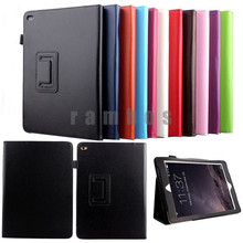 Magnetic Smart Cover PU Leather Stand Folding Folio Case for iPad Air 2 for iPad 6