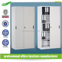 Top level office filing use tambour door metal storage cabinet, roller shutter steel office file cabinet, commercial furniture
