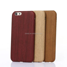 High Quality For iPhone 7 Wooden Pattern Case Cover For Galaxy Wood TPU Case