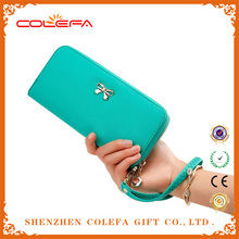 2015 Fashion ladies christmas handbags and purses leather Case Purse