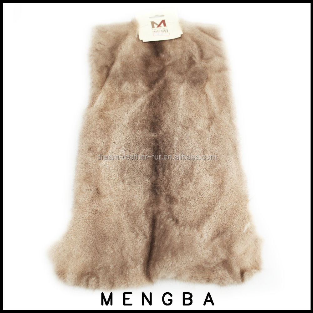 real mink fur pelts, mink fur skin, genuine mink skin piece for garment strips