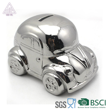 Ceramic Children's gifts car money box/piggy bank for decoration