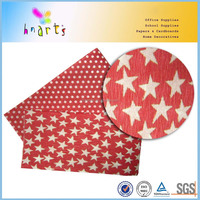 light weight printed crepe paper