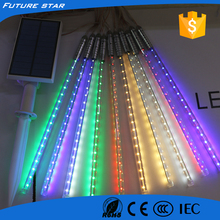 Advanced IP65 solar led meteor light for Christmas decoration