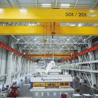 double girder bridge crane overhead crane wire rope inspection