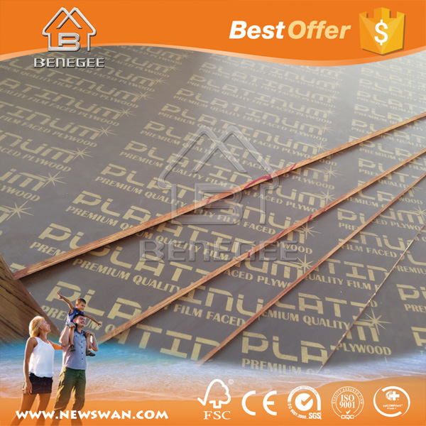 Shutter Ply / Waterproof Marine Plywood / Construction Formwork Material