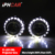 IPHCAR HID lens high low beam projector lens non destructive installation LED auto lighting
