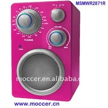 Best price FM/AM Portable radio with CE/ROHS Approval