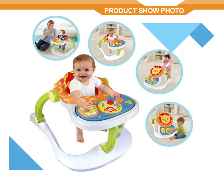 4 in 1 grow up happy toy trolley baby walker wholesale