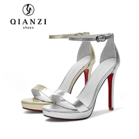 L019 best selling outstanding silver gold dress sandals on sale ladies party wear shoes high heel sandals