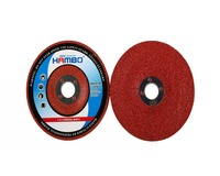 red color grinding disc for INOX