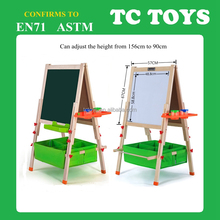 High quality multifunctional kids blackboard, with white board