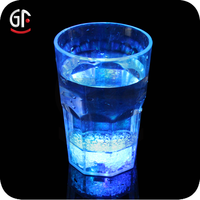 Christmas Led Toys with Flash Red-Light Beer Glass