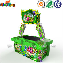 Qingfeng coin operated games touch screen ticket dispenser for sale
