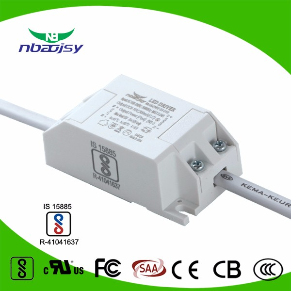3w 300mA constant current led power <strong>supply</strong> for down and ceiling lighting