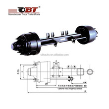 Chinese supplier high quality heavy truck rear axle