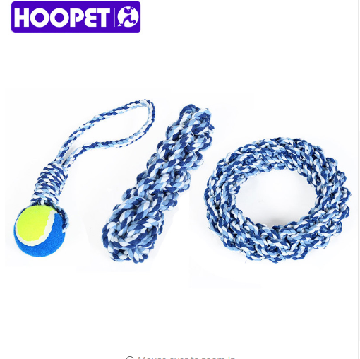 HOOPET Pet Toys For Dog Cat Resistent Puppy Chew Bite Toys Products Pets Play Training