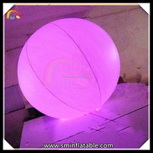 Cheap Lighting Interaction inflatable Zygote Ball LED Glowing Ball For Event Crowd Stage Ball