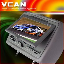 "9"" TFT LCD Headrest Monitor DVD player with pillow bag:HAV-900/head rest monitor"