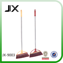 House Cleaning Stainless steel Pipe PET Head Plastic Broom