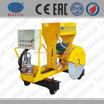 concrete saw machine