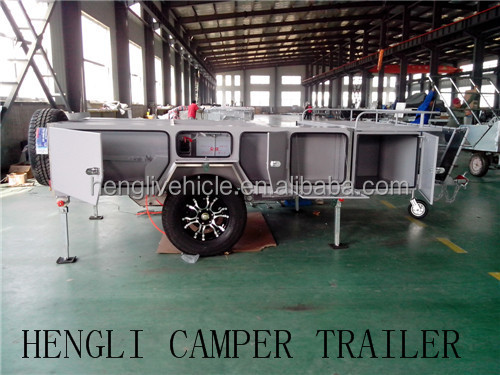 australia standard walk in ,walk through soft floor off road camper trailer-travel trailer-tent trailer