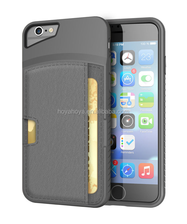 For iPhone 6 Plus Case, Ultra Slim Credit Card Wallet Case for iPhone 6 Plus