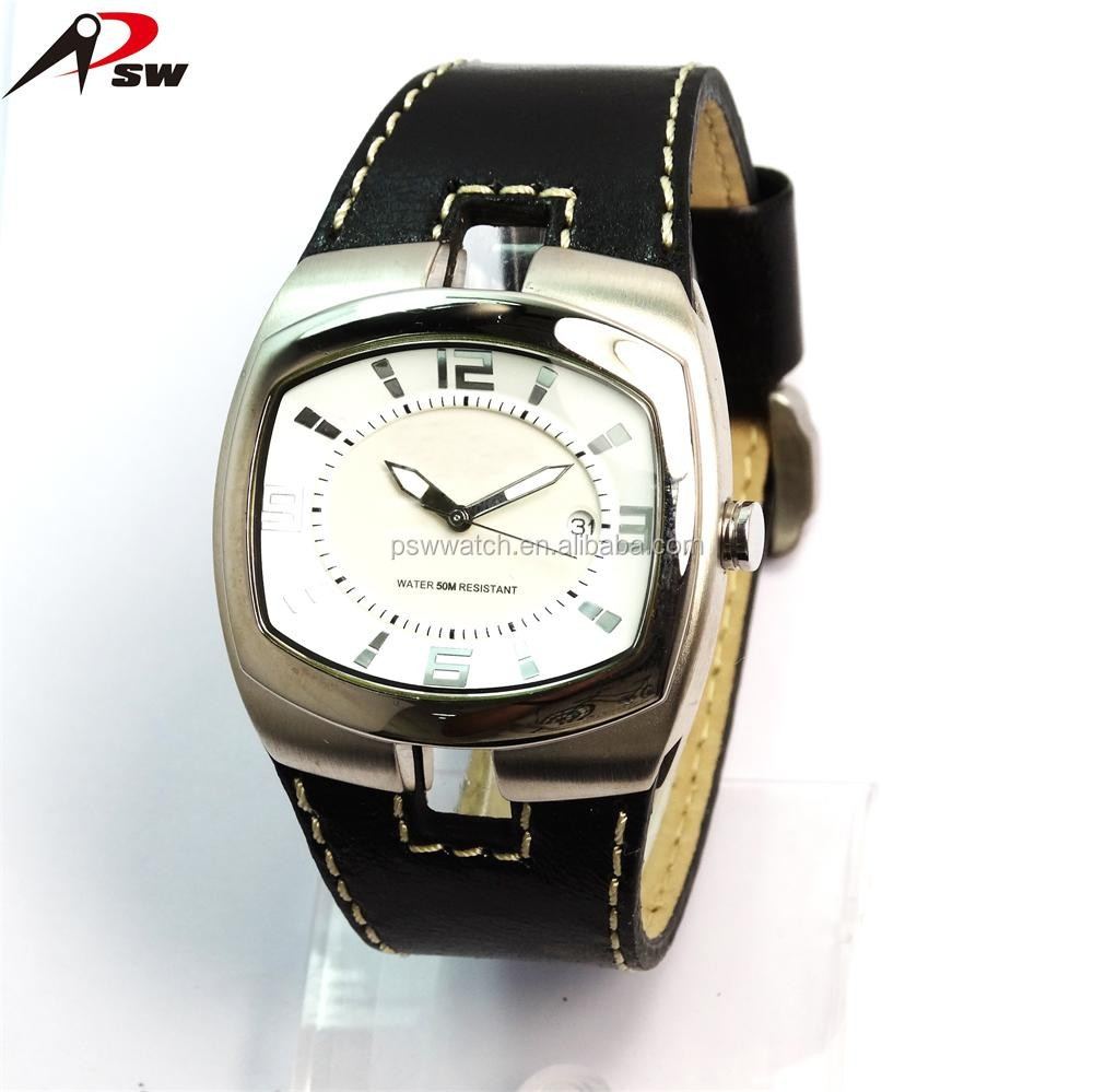 Shenzhen brushed mens stainless steel watch